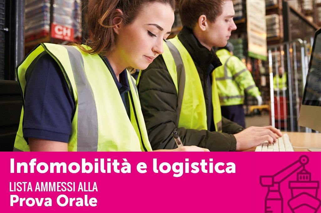 Infomobilità e logistica 2018 Candidati ammessi alla prova orale