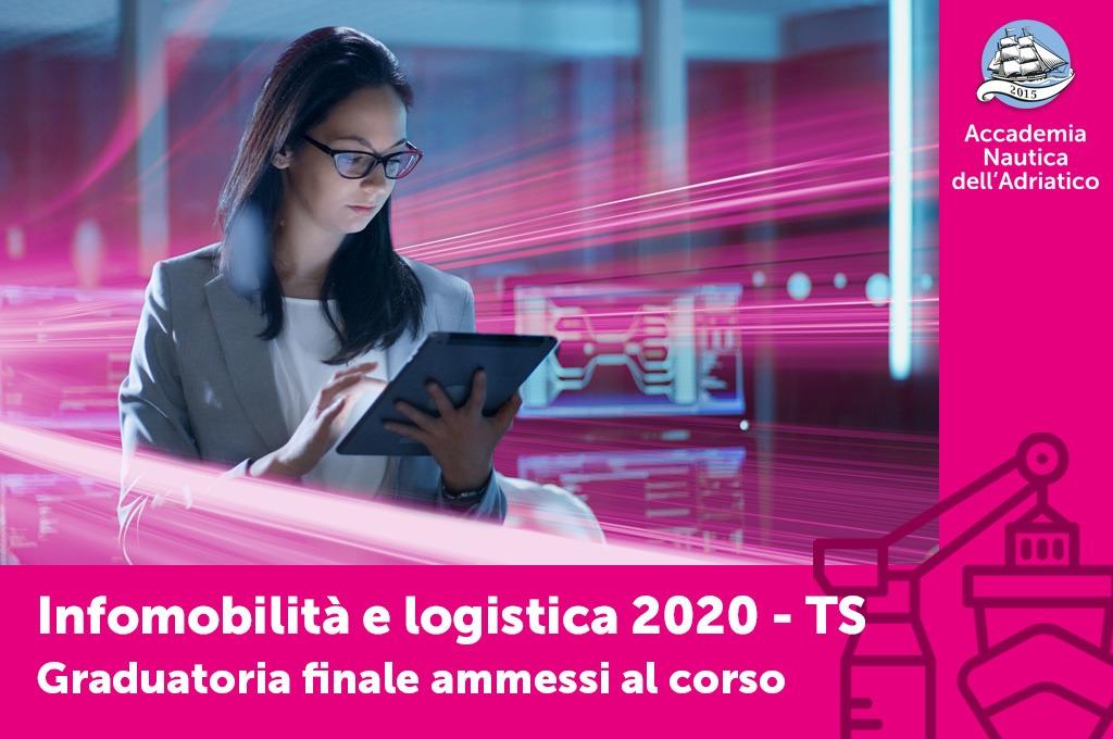 "Ammessi al corso ""Infomobilità e logistica"" sede di Trieste"