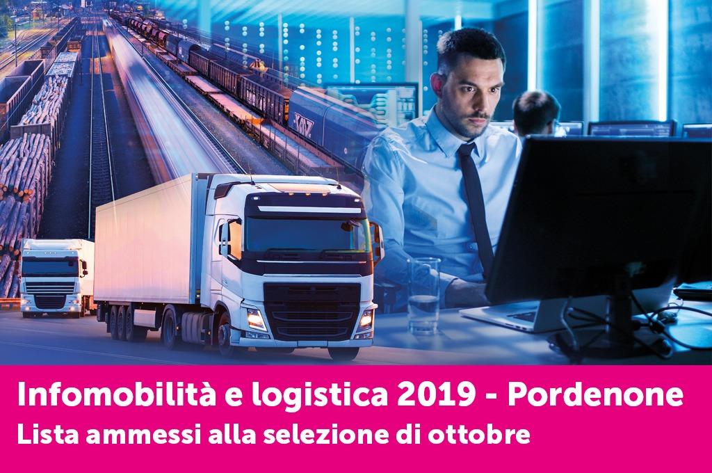 È online l'elenco degli idonei alle selezioni del corso di Logistica di Pordenone - Selezioni di ottobre