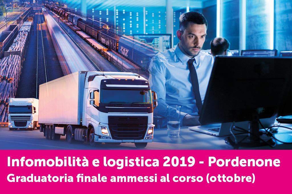 È online l'elenco degli ammessi al corso di Logistica di Pordenone - Selezioni di ottobre